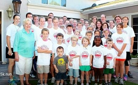 11 Center 5 K T-Shirt Photo