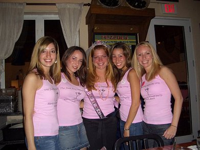Marty's Bachelorette Party : The Final Fling Before The Ring T-Shirt Photo