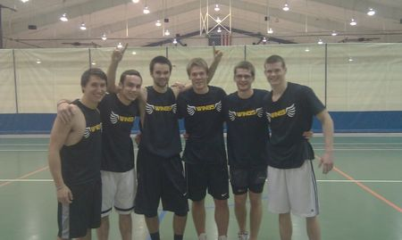 Intramural Dodgeball Champs!!! T-Shirt Photo