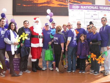 Team Don & Santa T-Shirt Photo