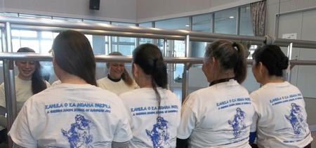 Hula Workshop In Japan T-Shirt Photo