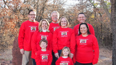 The Johnson Family 2012 T-Shirt Photo