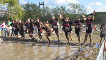Team Hidden Antler Getting Dirty For Breast Cancer T-Shirt Photo