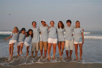 Cousins Reunite In Cold Water! T-Shirt Photo