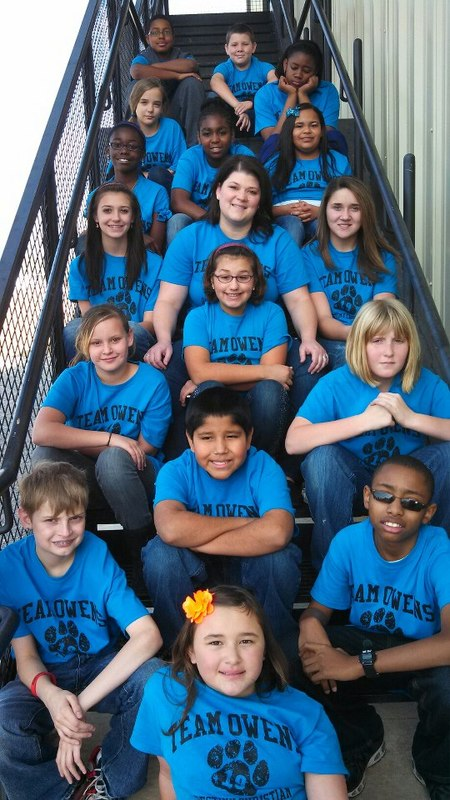 Mrs. Owens's 6th Grade T-Shirt Photo
