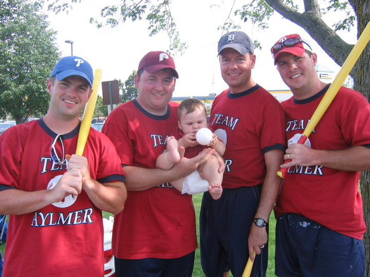 Team Aylmer With The Rally Baby T-Shirt Photo