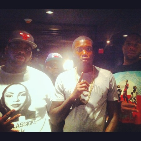 Keyz And Meek Mill T-Shirt Photo