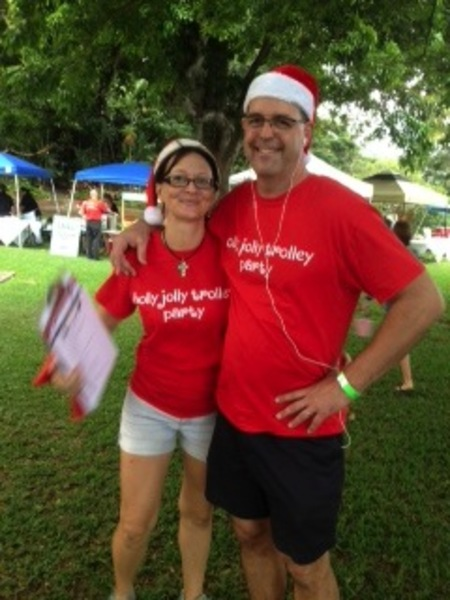 Holly Jolly Trolley Party! T-Shirt Photo