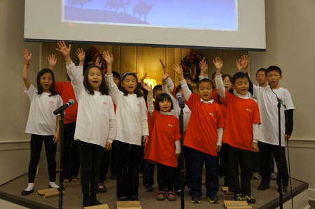 Mcec Children Sang At International Brunch T-Shirt Photo