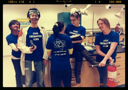 Chem Club Nerds T-Shirt Photo