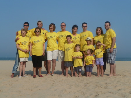 Family Fun In South Haven, Mi T-Shirt Photo