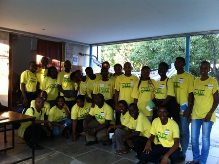 Udsm25 Group Styling In Their Custom Ink T Shirts T-Shirt Photo