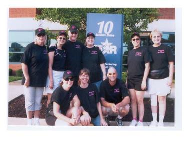 Walking For A Cure With Star T-Shirt Photo