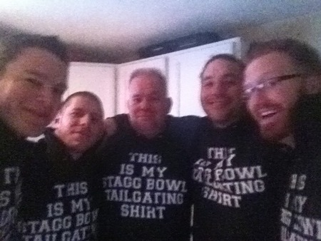 Stagg Bowl Drinking T-Shirt Photo
