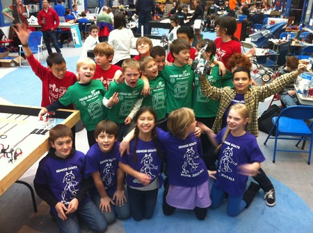 Nova's Three First Lego League Teams T-Shirt Photo