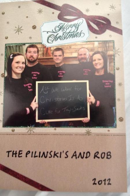 My Aunts Christmas Card T-Shirt Photo