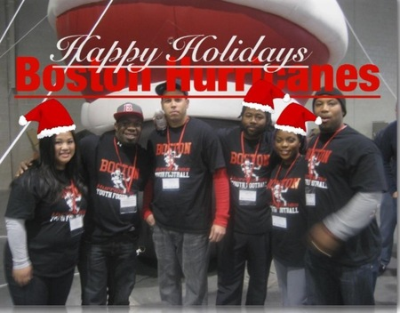 Happy Holidays From The Boston Hurricanes! T-Shirt Photo