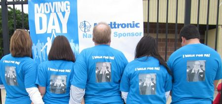 Walk For Parkinson's Disease T-Shirt Photo