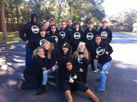 Bash Student Ministries Winter Retreat T-Shirt Photo