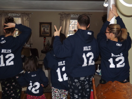 The Niles Fam! T-Shirt Photo