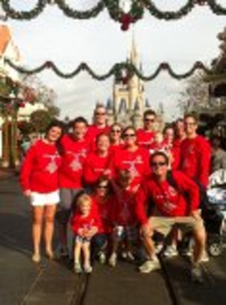 Our Family Birthday Party At Disney T-Shirt Photo