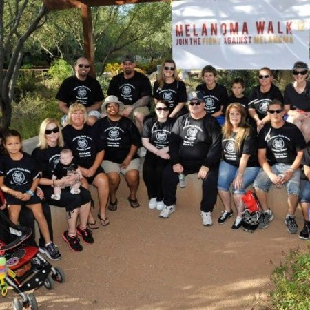Melanoma Walk T-Shirt Photo