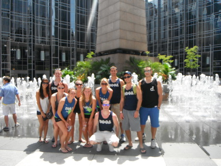 Ppg Place Fountain Pittsburgh T-Shirt Photo