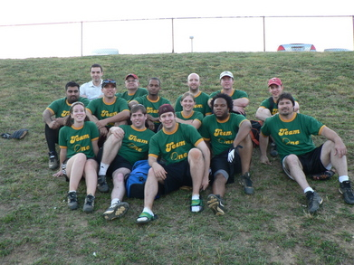 Team One Softball Pic T-Shirt Photo