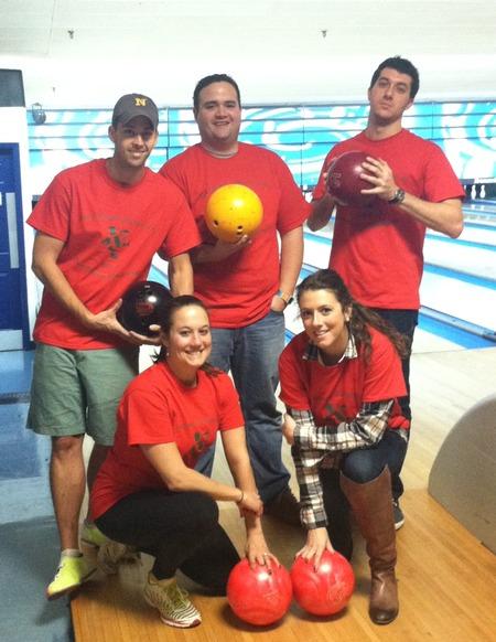 Xmas Bowling Spectacular T-Shirt Photo
