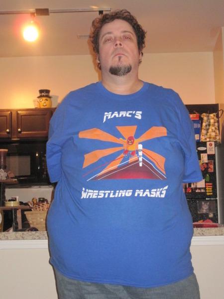 Marc's Wrestling Masks T-Shirt Photo