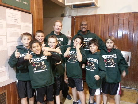 Grizzlies Basketball Team Thanks Custom Ink For Their Awesome Customized Design! Go Grizzlies! T-Shirt Photo