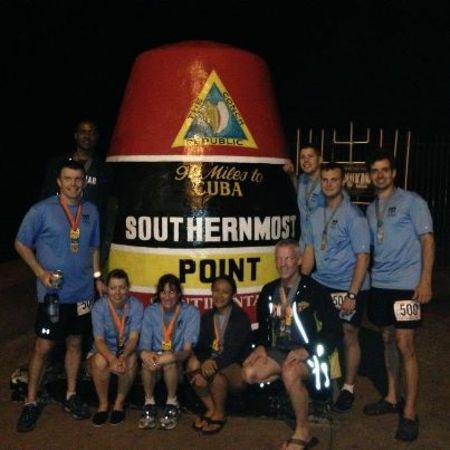 Ragnar Relay Finish Line   Key West! T-Shirt Photo