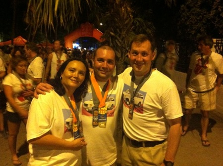 Ragnar Key West Finish Line T-Shirt Photo