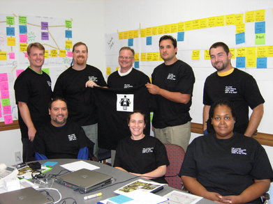 The X Rays   Raleigh Imaging Kaizen Team T-Shirt Photo