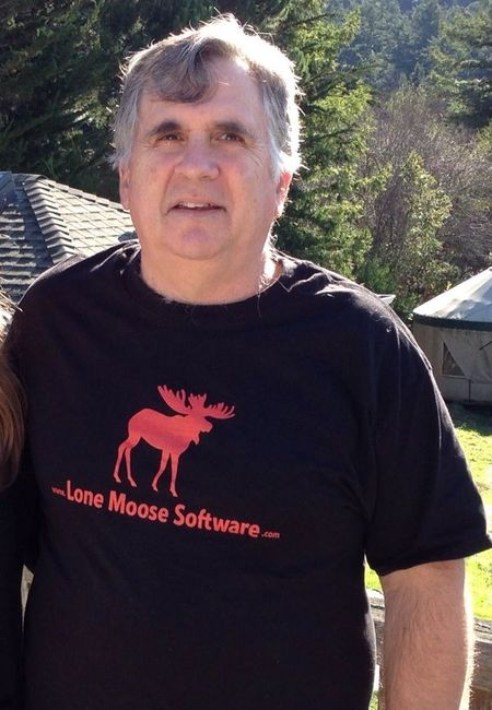 Very First T Shirt For Lone Moose Software T-Shirt Photo