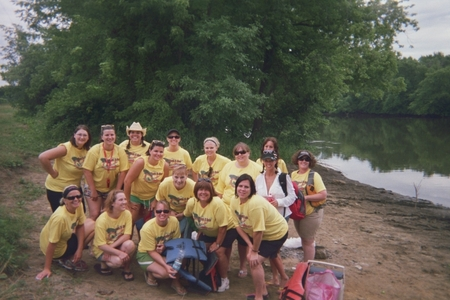 Boats N Hoes Canoe Trip T-Shirt Photo