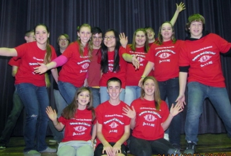 "Cs Drama Club   Cast Of ""Arsenic And Old Lace"" T-Shirt Photo"