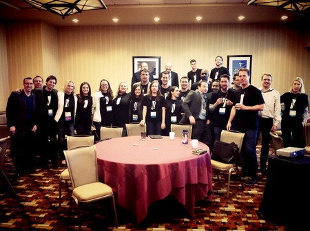 The Blackboard Mobile Team Killed It In Austin! T-Shirt Photo