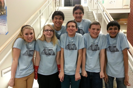 "Redmond Hs Theatre   ""Edges"" Cast T-Shirt Photo"