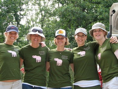 Girls' Weekend At The Elephant Sanctuary! T-Shirt Photo