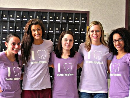 Dental Hygiene Students! T-Shirt Photo