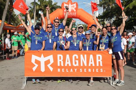 Smells Like Team Spirit Rocks The Florida Keys Ragnar Relay T-Shirt Photo