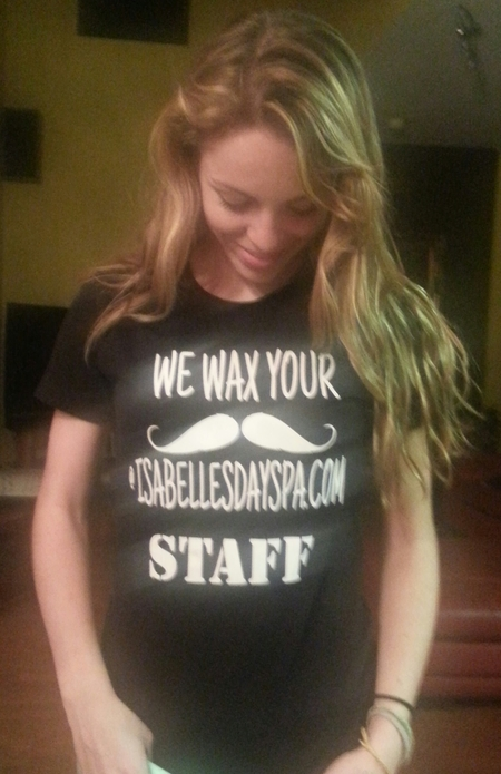 We Wax Your Mustache T-Shirt Photo
