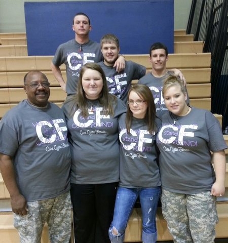 Cystic Fibrosis Awareness T-Shirt Photo