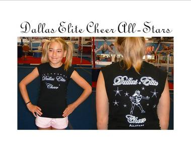 Dallas Elite Cheer T-Shirt Photo