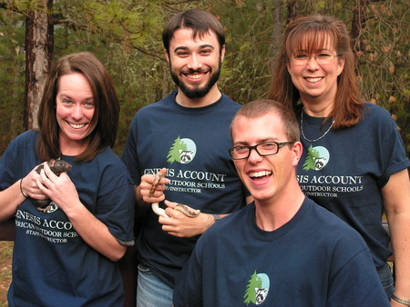 Genesis Account Outdoor Education Loves Inky, Even Our Animals Are Impressed. T-Shirt Photo