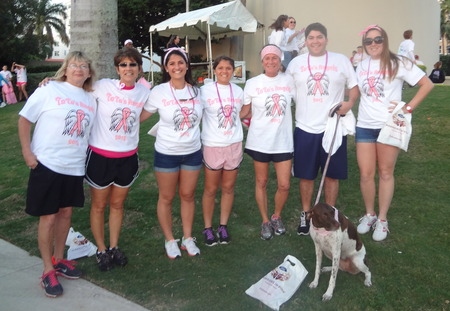 Ta Ta's Angels   Race For The Cure T-Shirt Photo