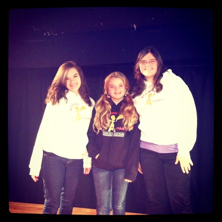 Acting A Part Actors Performing In Their New Sweatshirts! T-Shirt Photo