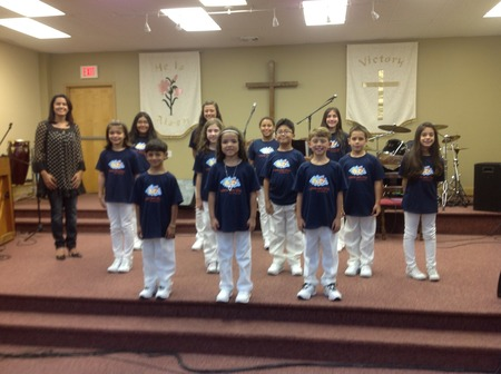 Children's Choir T-Shirt Photo