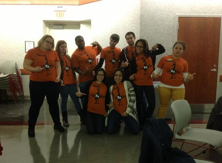 Team Giraffe! T-Shirt Photo